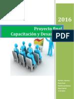 Proyecto Final Capacitacion y Desarrollo