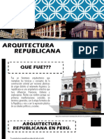 arquitectura republicana Peru-Tacna