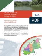 Plan de Gestión de Recursos Hídricos Cuenca Tumbes