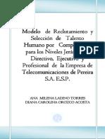 Modelo de reclutamiento y selección de talento humano por competencias.pdf