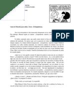 Guía de Filosofía Para Niños DERECHOS de LOS NIÑOS