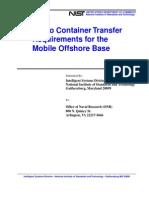 MOB Crane Requirements