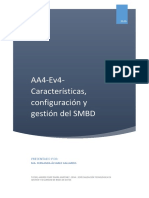 AA4 Ev4 Características Configuración y Gestión Del SMBD - MA FERNANDA ALVAREZ GALLARDO