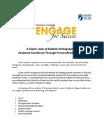 engage - student demographic profiles