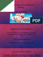 Trabajo Medicamentos SARZ 262-B