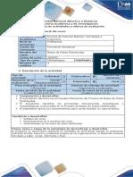 Guía de actividades  y rubrica de evaluación -Fase 1 – Taller Fundamentos de base de datos distribuidas