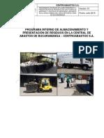 Programa de Residuos Solidos Centroabastos s.a.
