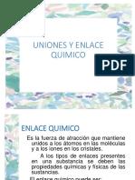 02 Uniones y Enlace Quimico