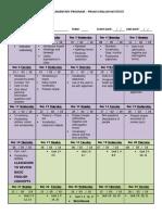 Course Program (Format) Lifestyle 1st Semester 2018 a 1
