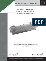 TSM4001-S152 Starter Motor Service Manual