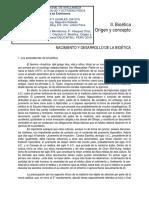7. ASP. Eticos y Legales. Bioética. Origen y Concepto. Enfermeria.