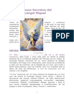 Poderosos Decretos Del Arcangel Miguel - Septiembre de 2010