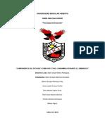 Informe de Psicología Del Desarrollo Sobre El Éxtasis.