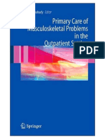 Primary Care of Musculoskeletal Problems in the Outpatient Setting