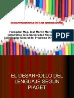 EL DESARROLLO DEL LENGUAJE SEG+ÜN PIAGET