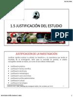 1.2.7 INTRODUCCIÓN Justificación Del Estudio