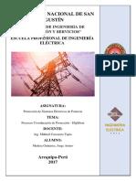PROTECCIÓN de sistemas electrcos