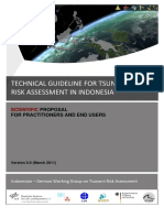 GITEWS Technical Guideline for Tsunami Risk Assessment in Indonesia