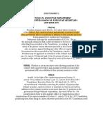 01 Civil Liberties Union v Executive Secretary - DIGEST Online