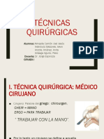 TECNICAS QUIRÚRGICAS.pptx