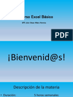 Excel Temario