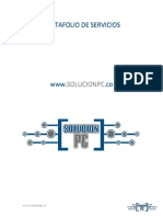 Portafolio de Servicios Solucion Pc