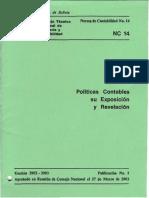 NC 14 - Políticas Contables y Su Exposición