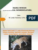 3. TATANAMA HEWAN