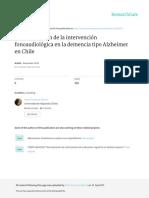 Caracterizacion de La Intervencion Fonoaudiologica