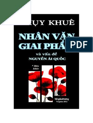 Biên Khảo Về Nguyễn ái Quốc Thuỵ Khê