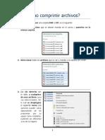 MSI Cómo comprimir archivos