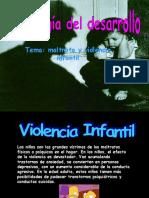 Maltrato y Violencia Infantil