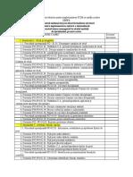 Lista Cu Numărul Minimal Al Procedurilor Pentru Implementarea SCIM in Unități Școlare