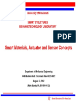 Smart Materials, Sensors and Actuators