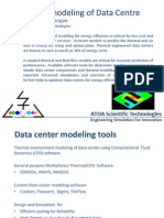 Data Centre Multi Physics Models