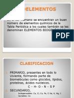 bioelementos -