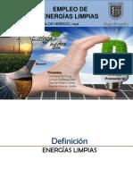 Empleo de Energia Limpia - ECO 2016 EPMH
