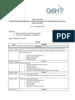 Agenda La Paz - 12-13_Oct_2017