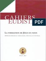 Cahiers Eudiste_doctorado San Juan Eudes_la Formation de Jesus Dans Nos
