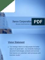 Xerox Corporation Presentation