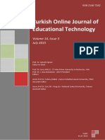 Turkish Online Journal of Educational Technology