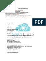 Cisco Flex VPN Guide