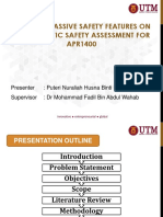 Effect of Passive Safety Feature on Probabilistic Safety Assessment for PWR