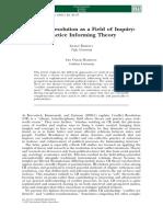 Conflict Theory Journal Zartman