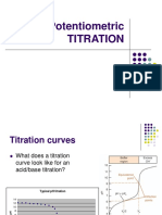 Potentiometric Titration