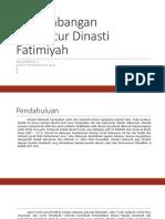 Perkembangan Arsitektur Dinasti Fatimiyah.pptx