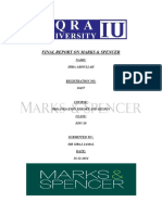 Final Report on Marks
