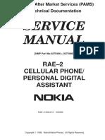 Service Manual Nokia 9110