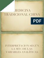 Analiticas en Medicina Occidental & MTC