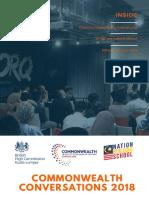 Commonwealth Conversations 2018